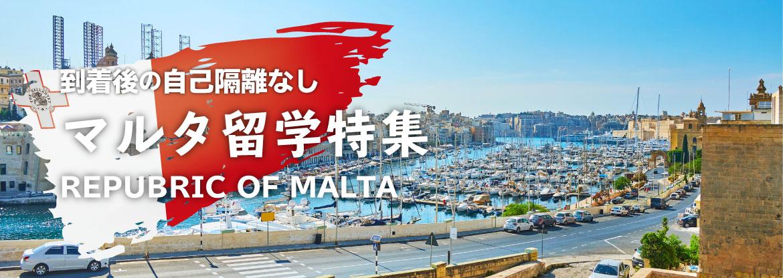コロナ禍でも行けるマルタ留学特集