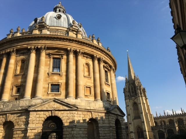 オックスフォード ランドマーク ラドクリフ カメラ 円柱図書館