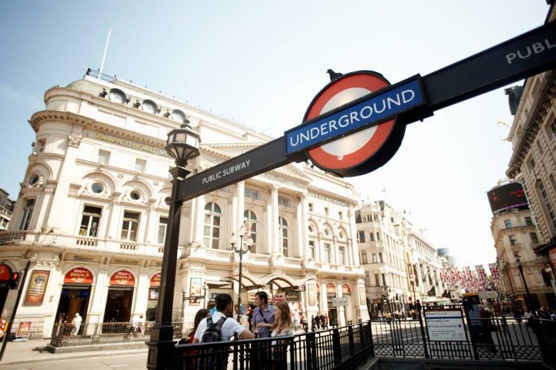 ロンドン 留学 地下鉄 アンダーグラウンド