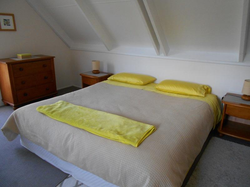ホームステイ先のベッドルーム