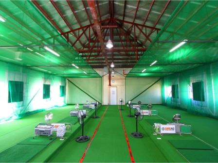 SMEAGのゴルフ練習場