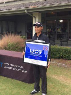(関連サイト)ジュニアゴルフ留学のWhat's Newが更新されました。「村田幸大郎がヒルトンヘッドアイランドで優勝」