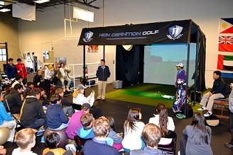 (関連サイト)ジュニアゴルフ留学のWhat's Newが更新されました。「 ヤニ・ツェン、ケビン・スメルツとIJGAを訪問!」