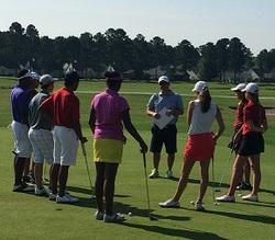 (関連サイト)ジュニアゴルフ留学のWhat's Newが更新されました。「Aaron ErricoがIJGAでThe First Tee Training Programに参加!」