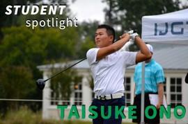 (関連サイト)ジュニアゴルフ留学のWhat's Newが更新されました。「大野瞬日亮 -これまでの道のり-」