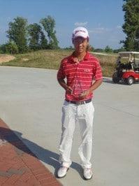 (関連サイト)ジュニアゴルフ留学のWhat's Newが更新されました。「2ラウンド持ちこたえた呉が優勝!」