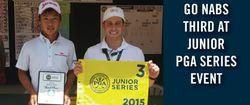 (関連サイト)ジュニアゴルフ留学のWhat's Newが更新されました。「呉、ジュニアPGAシリーズで堂々の3位に!(Go nabs third in the 2015 Junior PGA Series event)」