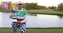 (関連サイト)ジュニアゴルフ留学のWhat's Newが更新されました。「フォン・シャンシャンがドバイレディースマスターズで3度目の優勝!」