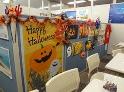 ウインテック留学センターのオフィスがハロウィン仕様になりました。