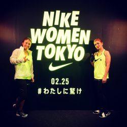 (関連サイト)IJGA卒業生リカ・パークブログが更新されました。テーマは「NIKE WOMEN TOKYO」