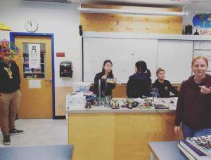カナダ公立高校 授業の様子