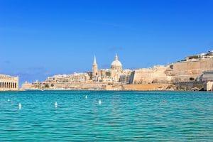 マルタ首都ヴァレッタ La Valletta