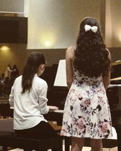 カナダ高校生活 ピアノ