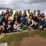 2017年のハワイ研修の様子