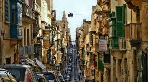 マルタ首都ヴァレッタ Valletta