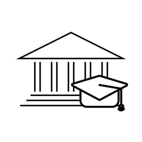 University building symbol