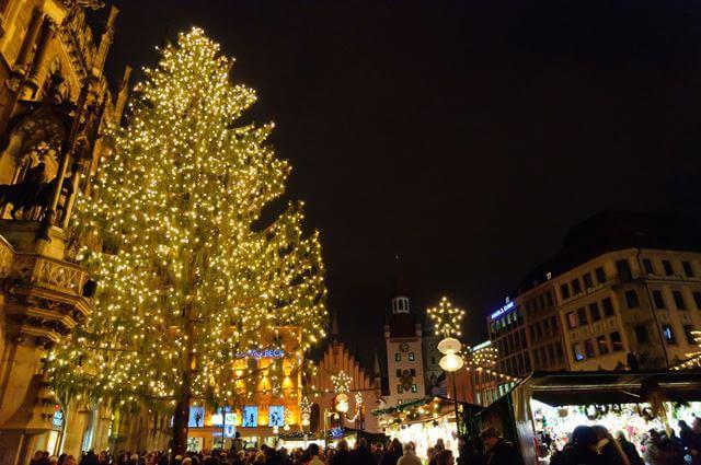 ドイツ ミュンヘン クリスマスマーケット 留学先