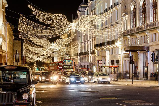 クリスマス イルミネーション ロンドン 留学