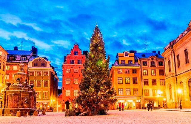 スウェーデン クリスマス 留学