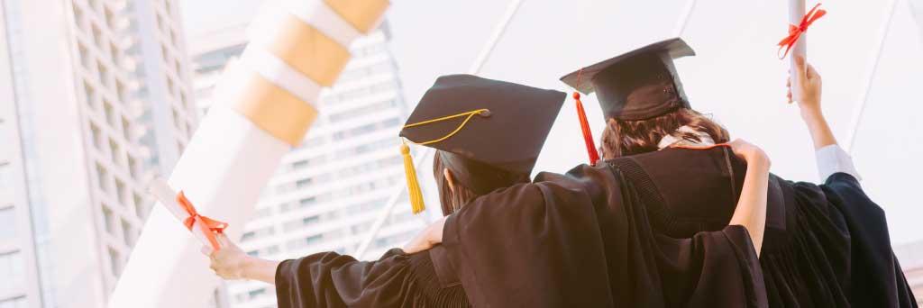 海外の高校を卒業する