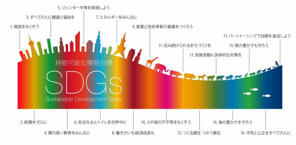 SDGs 17の目標 中学生 高校生 夏休み