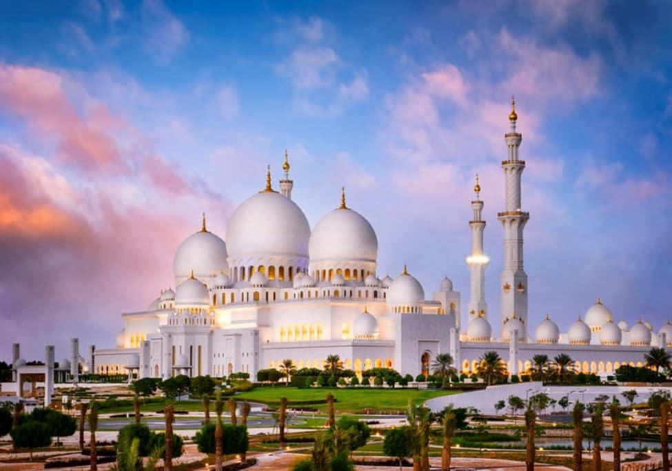 UAEで最も大きい シェイク・ザイード・グランド・モスク